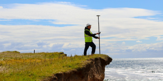 SEP has specialised in land survey for over 30 years.